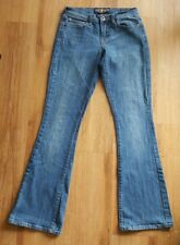 Lucky Brand Womens 0/25 Sofia Boot Cut Jeans Stretch Denim Pants Blue