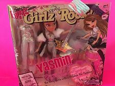 NEW BRATZ GIRLZ REALLY ROCK YASMIN DOLL POP PRINCESS GUITAR DRUMS SILVER SPARKLE