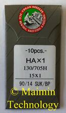 10 90/14 Bp Ball Point Organ Flat Shank 15X1 Hax1 130/705 Home Sewing Needles