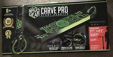 Madd Gear Carve Pro Green Black Trick Stunt Scooter New