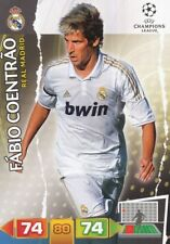 FABIO COENTRAO PORTUGAL REAL MADRID CARD ADRENALYN CHAMPIONS LEAGUE 2012 PANINI