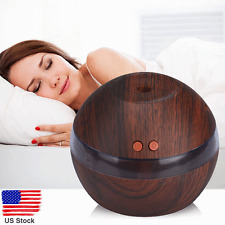 Air Aroma Essential Oil Diffuser LED Ultrasonic Aroma Aromatherapy Humidifier US