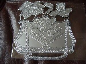 Metal Cutting Dies, Handbag works with carnation crafts - Carnation Handbag