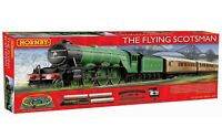 The Flying Scotsman Train Set OO Scale can run on HO Scale