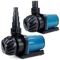 1200-3200GPH Aquarium Pond Pump Fountain Submersible Inline Hydroponics