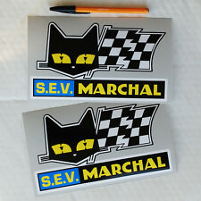 S.E.V. Marchal stickers decals Alpine Renault A110 A310 Race Rally Le Mans