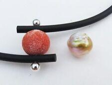 Collar perlas de agua dulce