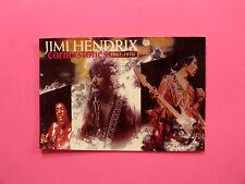 JIMI HENDRIX OFFICIAL VINTAGE 1990 POSTCARD NOT CD LP SHIRT PATCH POSTER UK MADE