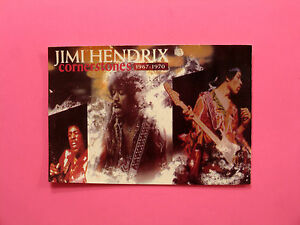 JIMI HENDRIX OFFICIAL VINTAGE 1990 POSTCARD UK MADE