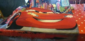 DISNEY plaid polaire couverture CARS rouge 110 x 140 cm NEUF