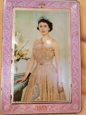 Queen Elizabeth II Vintage Tin - Commemorate 1953 Coronation
