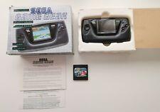 Sega Game Gear Video Game Console Super Monaco GP Bundle BOXED RECAPPED TESTED