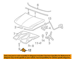 GM OEM Hood-Lock Latch 15756432