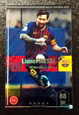 Panini Footista 2019 NEW WCCF F19-1 #25 Lionel Messi Refractor Card FC Barcelona