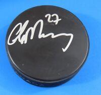 GLEN MURRAY SIGNED HOCKEY PUCK ~ NHL AUTOGRAPH ~ 100% GUARANTEE