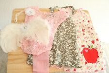 Lot Newborn Baby Girl Clothes Photographer Set Pink Lace Angel Wings Headband