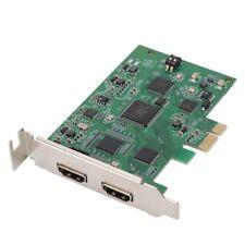 PCIE Video Capture Card HDMI 4K 30P Input HD Video Recorder HDMI Out Live Stream