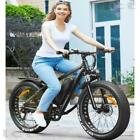 """26""""Electric Bike 500W Fat Tire Electric Bikes 7Speed 48V 12.5AH Battery US Stock"""
