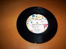 "GRACE JONES  ""JONES THE RHYTHM""     7 INCH 45    1985"