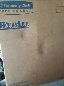 Wypall 47033 L20 General Purpose 2-Ply Wipers in Brown, 10 Boxes (88 per box)