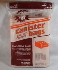 Sears Kenmore Canister Vacuum Bags (Open 15 Pack) 14 Bags 205055 5055