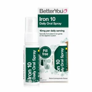BetterYou Iron 10 Daily Oral Spray - 25ml (Same day Dispatch )