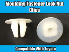20x CLIPS FOR TOYOTA LOCK NUT MOULDING WHITE PLASTIC QUALITY OEM 90189-06006