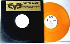 "RUFF RYDERS ""GOTTA MAN"" (4 MIXES) PROMO 12"" GOLD VINYL SINGLE RECORD>VG+++>1999"