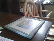 carved frame,vintage,lake & long chair,picture,painting,glass,solid wood