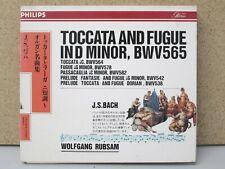 JAPAN 17CD-26 - BACH - Organ Works / Toccata & Fugue - Wolfgang RUBSAM CD