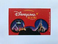 Musei. Biglietto-Ticket. Disneyland Resort Paris.