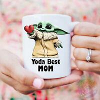 Yoda Best Mom Mug Mom Birthday Gift Gift For Mom Best Mom Ever Mug Yoda Best Mom