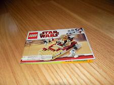 LEGO 8092 BOOK MANUAL ONLY Star Wars Luke's Landspeeder Instructions
