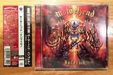 Motorhead - Inferno + 1 Japan CD w/ OBI (Autographed by Lemmy, Mikkey & Philip)