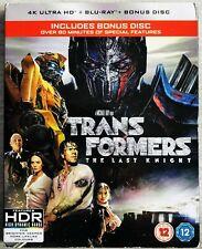 Transformers - The Last Knight (2017) 4K UHD + Blu-ray + Slipcase