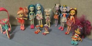 Doll Lot of 10:  Shopkins-Mattel Dolls (and Mini's) Assorted with Trike - Look!