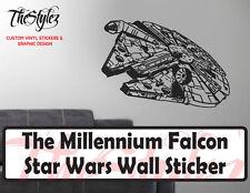 Star Wars Millennium Falcon Oversize Wall Vinyl Sticker