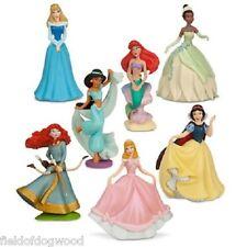 NEW Disney Store Princess Aurora Cinderella PVC 7 Figurine Playset Cake Topper