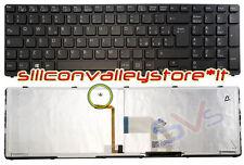 Tastiera  V133846DK3 Retroilluminata Nero Sony Vaio SVE15