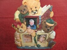 Story Time Collage Teddy Bears Picture Frame - 1997 Collectable