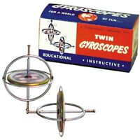 GYROSCOPE TWIN PACK #00066 TEDCO TOYS' Original Continues to fascinate & teach!!