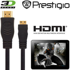 Prestigio Multipad 7, 8, 9.7 Android Tablet PC Mini HDMI a HDMI TV 2,5 m Cavo