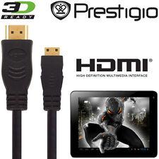 Prestigio Multipad 7, 8, 9.7 Android Tablet PC HDMI Mini to HDMI TV 2.5m Cable