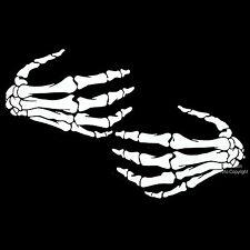 * Gothic Biker Punk Knochenhand Damen Girl Shirt *7236