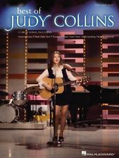Best of Judy Collins Sheet Music Piano Vocal Guitar SongBook NEW 000306946