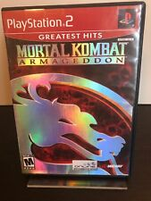 Mortal Kombat: Armageddon (Sony PlayStation 2, 2006) complete
