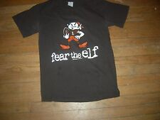 Cleveland Browns New RARE ANGRY-ELF Brown T-Shirt,GILDAN QUALITY,GR8 CHEAP GIFT