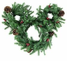 "NEW Disney Parks Mickey Mouse Light-Up Holiday 14"" Christmas Wreath"