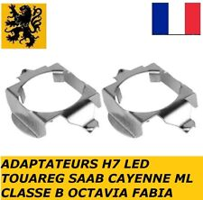 2x Bagues Adaptateur H7 KIT LED ML SLK  TOUAREG SAAB CAYENNE KUGA GALAXY OCTAVIA