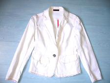veste femme Cop.copine coton blanc 38 40 TBE